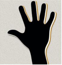 volunteer raised hand