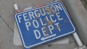 FergusonPoliceSignColor